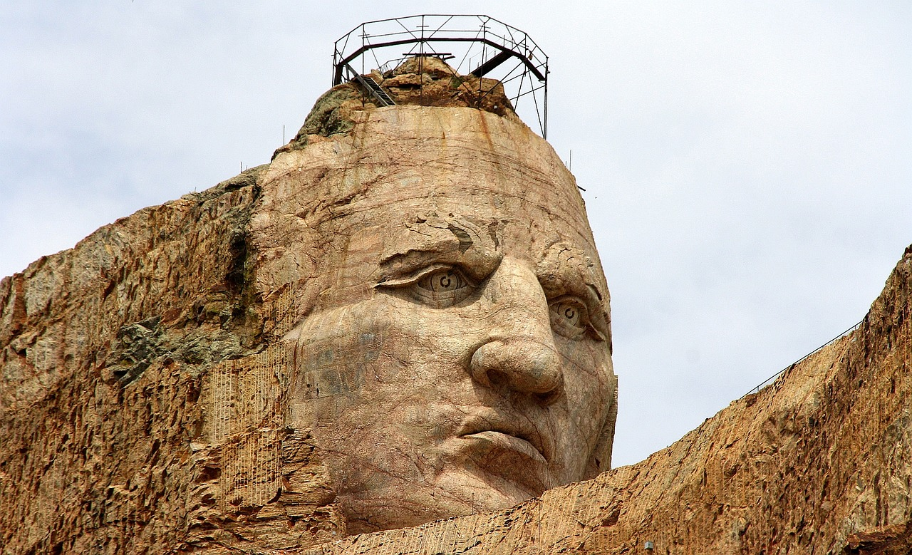 The Crazy Horse Memorial And Its Lasting Message Radical Tea Towel Us