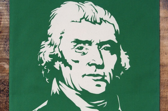 Thomas Jefferson Tea Towel